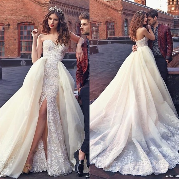 018ca30efb2 GALIA LAHAV 2 IN 1 GOWN WITH DETACHABLE SKIRT 💃🏿